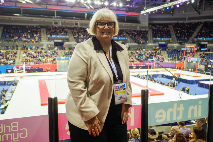Jane Allen awarded MBE in 2020 New Year Honours list for services to gymnastics