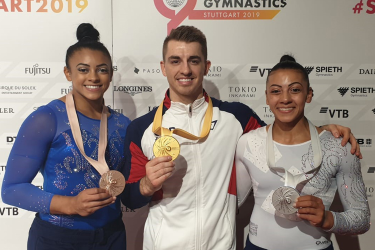 World gold, silver and bronze for GB on super Saturday in Stuttgart
