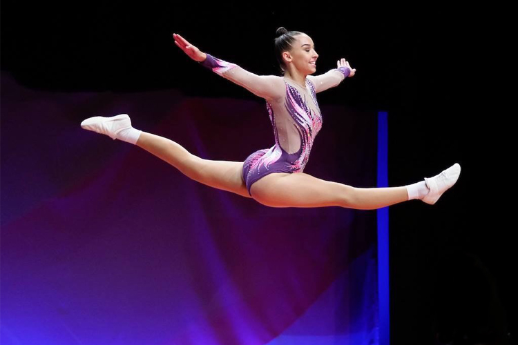 Olivia Goves ready for a new challenge at the 2018 Aerobic & Rhythmic British Championships