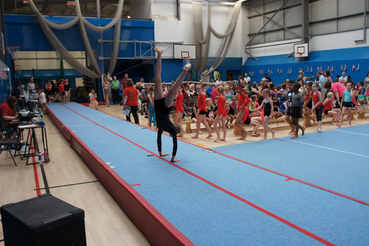 West Bromwich Gymnastics Club helping their community