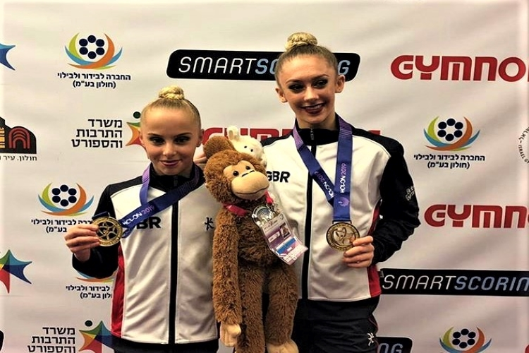 British gymnasts medal in every event at acrobatic European age-group championships