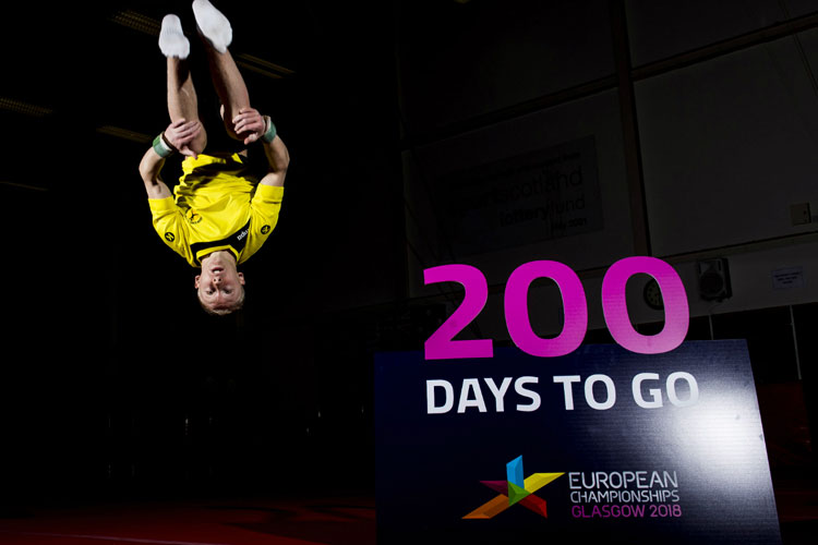 Young people countdown to Glasgow 2018 with less than 200 days to go