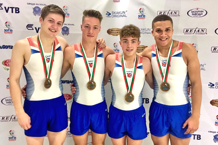Tumbling team crowned World Champions on superb day of British success in Sofia