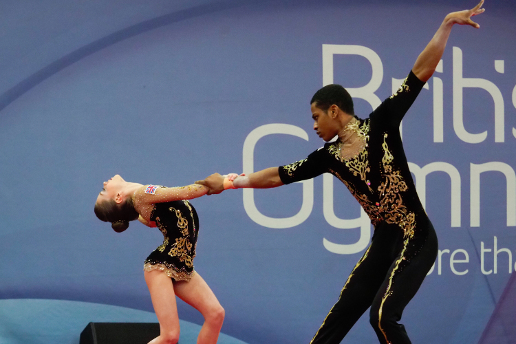 Champions crowned at acrobatic gymnastics British Championships