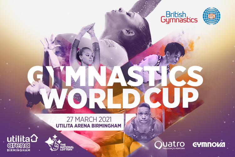 Gymnastics World Cup returns to Birmingham in 2021