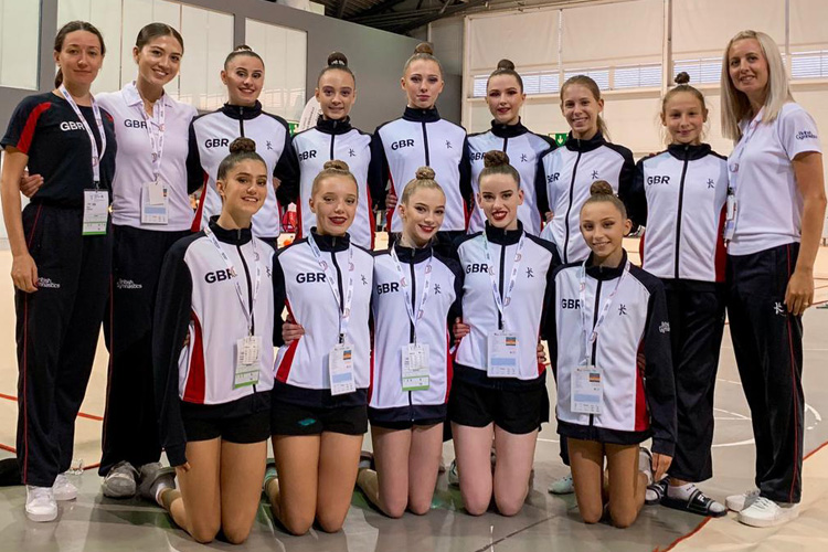 Success in Portugal for rhythmic gymnasts