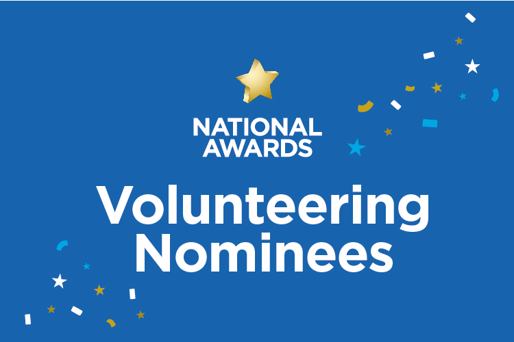 National Awards: meet our volunteering nominees
