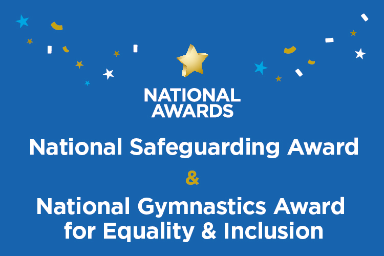 Meet the National Safeguarding Award and Gymnastics Award for Equality & Inclusion nominees