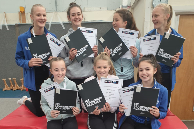Abbey Road Sports Acrobatics Leadership Academy in the spotlight