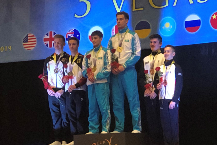 Bronze for Frazer Windows and Finlay Gray at Acrobatic World Cup