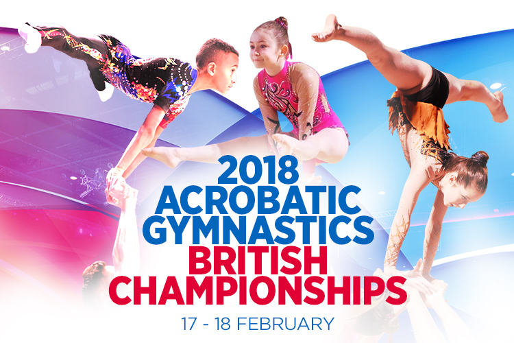 2018 Acrobatic Gymnastics British Championships tickets on sale