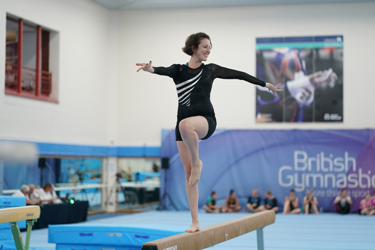 Celebration of gymnastics at 2019 Adult British Championships