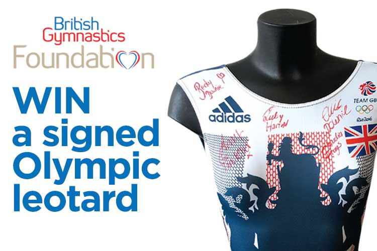 Win a signed Olympic leotard