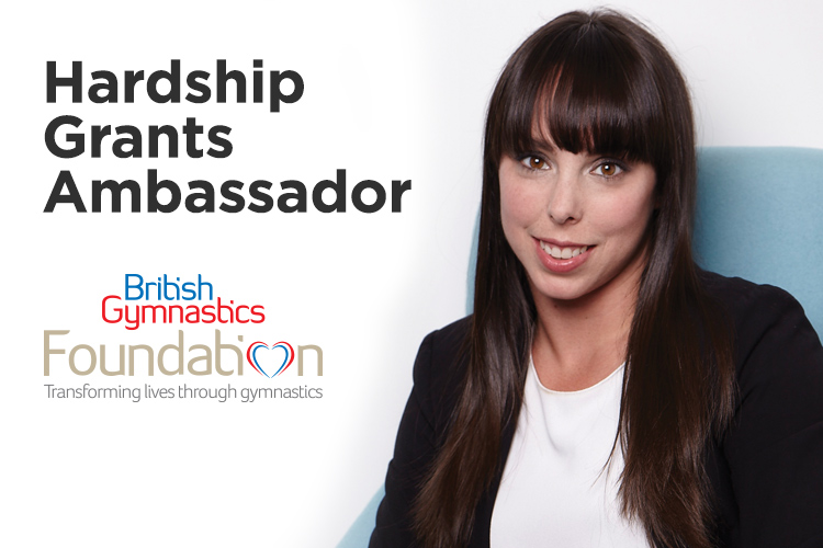 Beth Tweddle MBE announced as Foundation's Hardship Grants ambassador