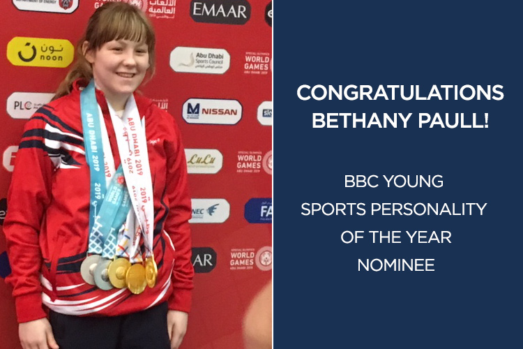 Bethany Paull shortlisted for BBC Young Sports Personality