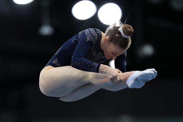 Tokyo 2020 qualification points for GB trampoline gymnasts at World Cup