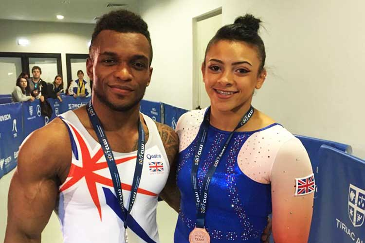 History for Courtney Tulloch and a full set of medals for Ellie Downie at the 2017 Europeans