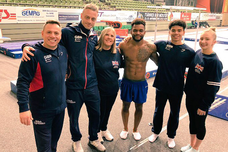 Successful Cottbus World Cup for GB gymnasts