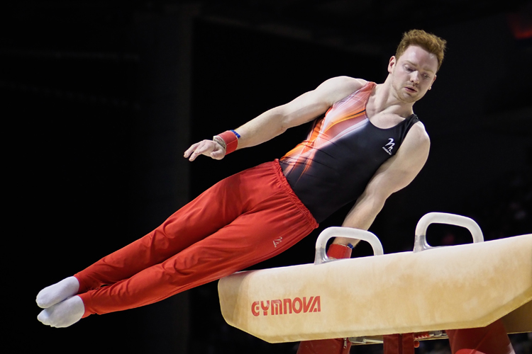 Dan Purvis wins sixth Scottish all-around title