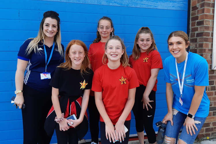 Stevenage Sports Acro Club Leadership Academy in the spotlight