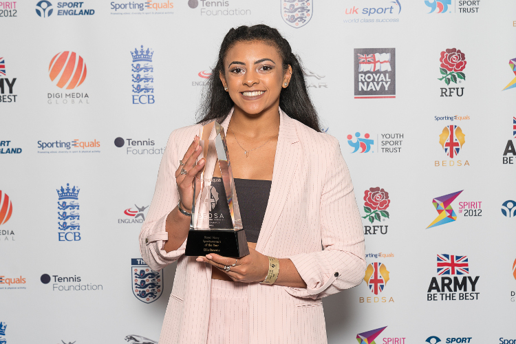 Ellie Downie named BEDSA Sportswoman of the year
