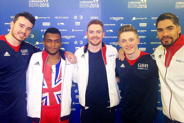 Eight finals for British men at 2016 European Championships