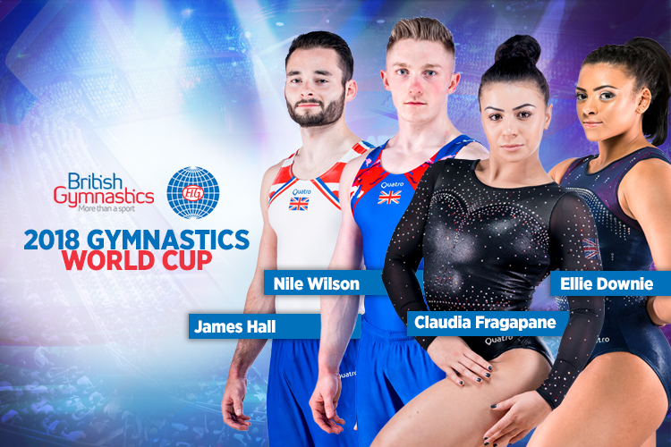 British gymnasts announced for 2018 Gymnastics World Cup