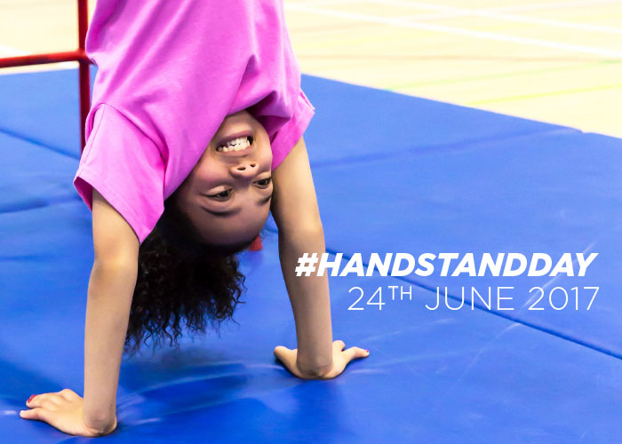 Celebrating International #HandstandDay on the 24th June!