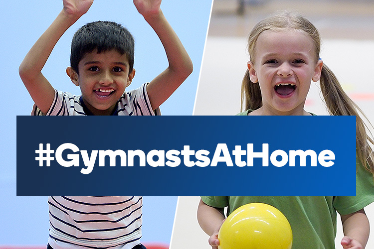 Be one of our #GymnastsAtHome