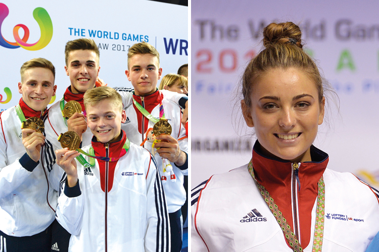 New inductees in the British Gymnastics Hall of Fame
