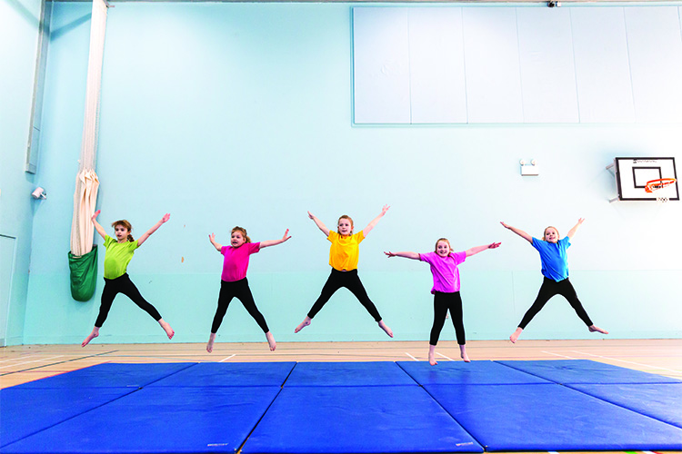 Liverpool gets involved ahead of the 2016 British Gymnastics Championships