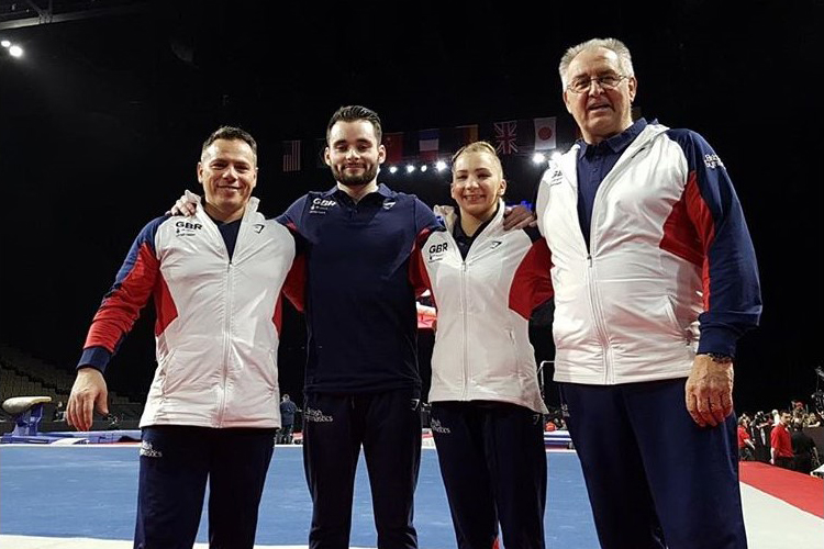 Silver for James Hall at 2018 American Cup