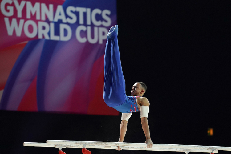 Brilliant fourth place for Joe Fraser at Gymnastics World Cup