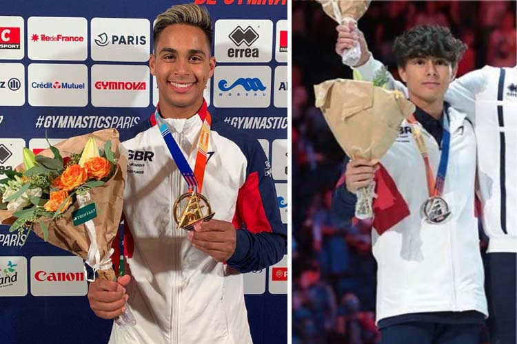 Gold and silver for GB at Paris World Challenge Cup