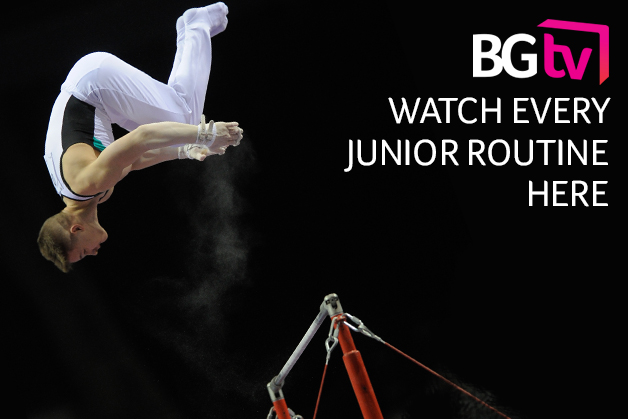 Watch the European Championship junior routines