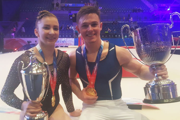 Kelly Simm and Brinn Bevan crowned champions in battle of the British