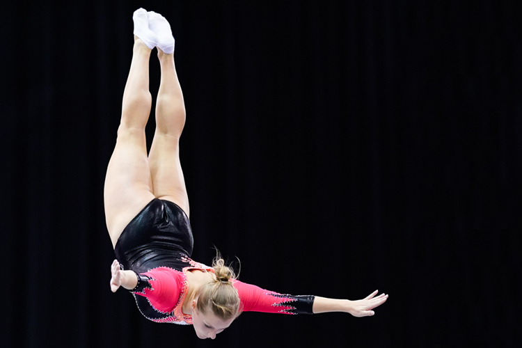 Tokyo qualification continues for trampoline gymnasts