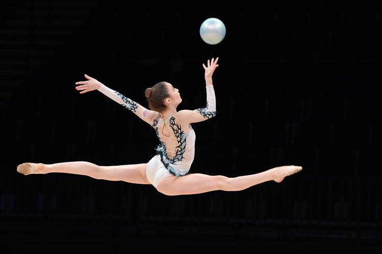 Halford takes third rhythmic British title