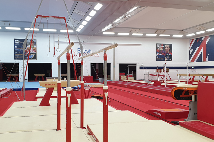 First elite gymnasts begin to return to training
