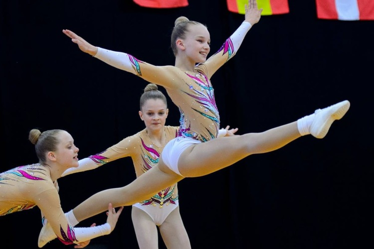 Championship Series in focus - aerobic gymnastics