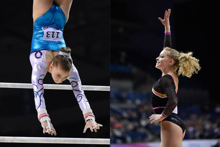 Maisie Methuen and Kelly Simm back in action at Cottbus World Cup