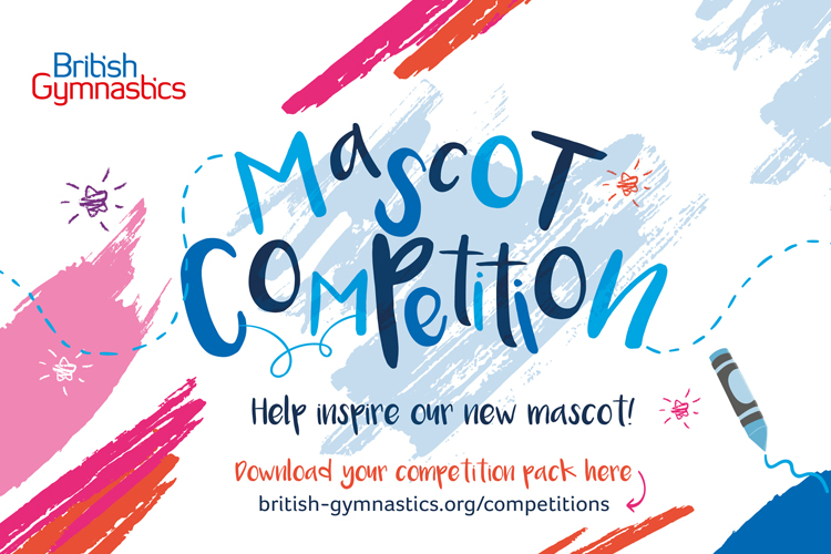 Competition: create your own British Gymnastics mascot