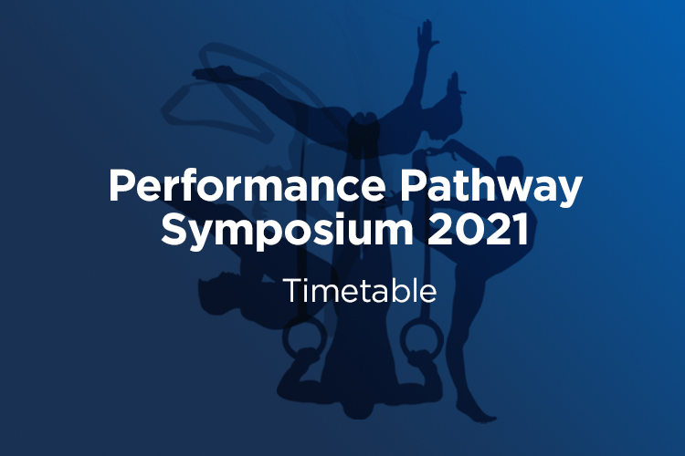 Virtual Performance Pathway Symposium Access and Timetable