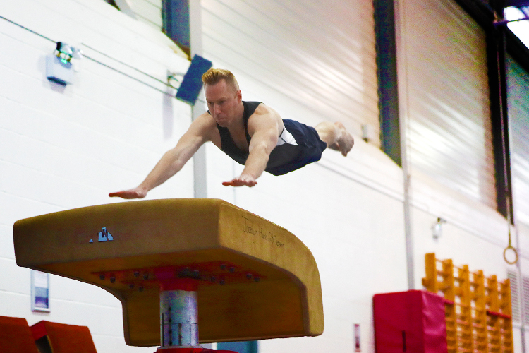 Catching up with the Royal Navy Gymnastics Association