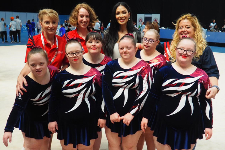 Great Britain's Special Olympic gymnasts bring home a haul of medals