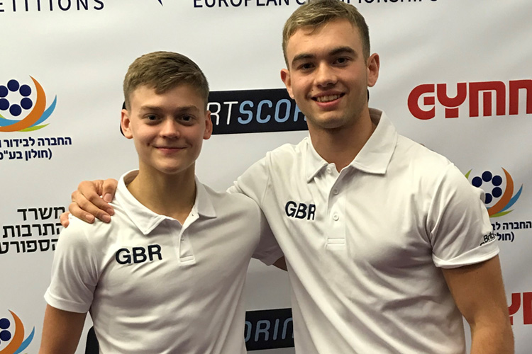 Upcott & Tate win gold as British gymnasts secure 13 medals at Acrobatic Europeans
