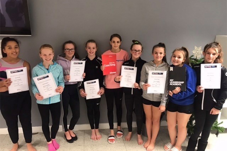 Spirals Gymnastics Club in the spotlight