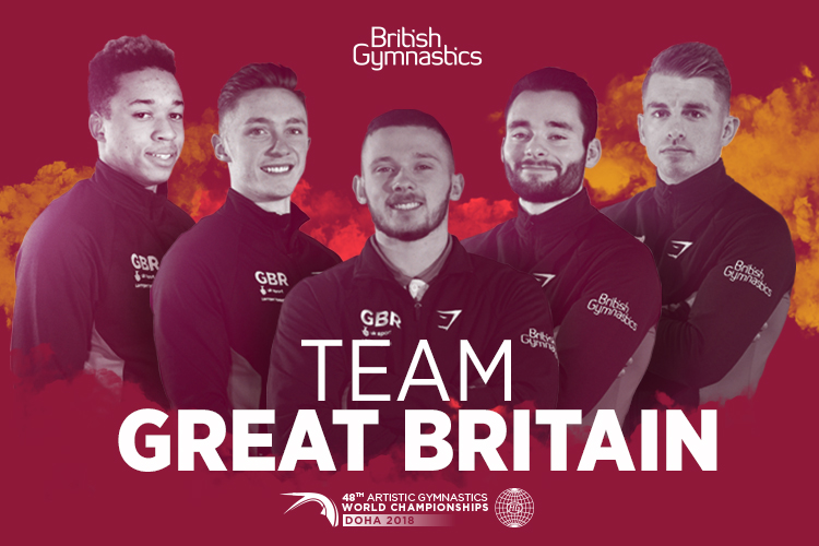 British men's team selected for 2018 World Championships