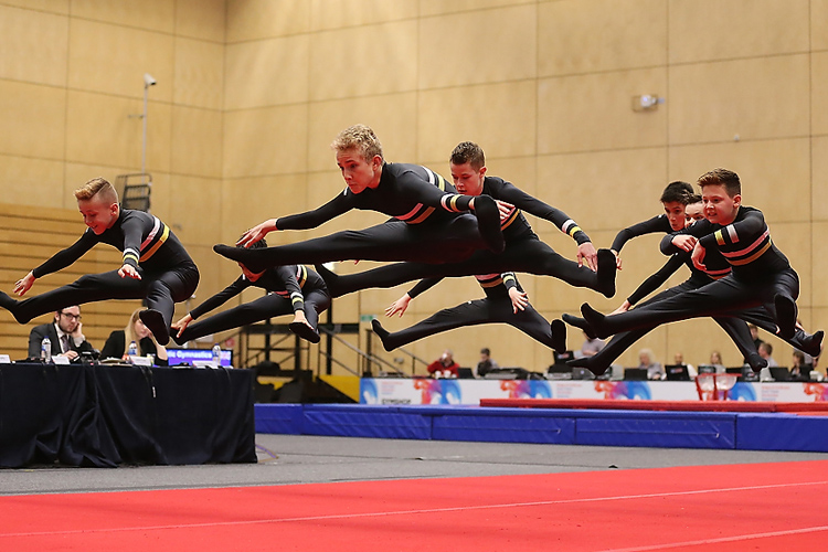 British champions crowned at 2018 TeamGym British Championships