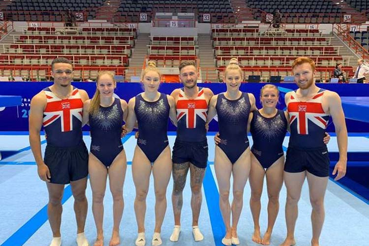 Bryony 4th as GB gymnasts secure Olympic qualification points in Russia